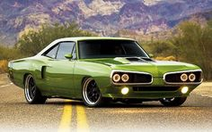 '69 Dodge Super Bee Resto-Mod  (My hubby had one just like this when we met.)