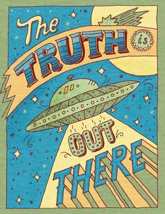 The truth is out there by Angelica Ovcharenko