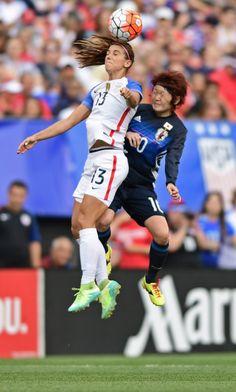 Alex Morgan USA vs Japan June 5th 2016