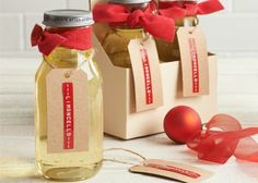 Get started on make ahead food gifts that need time to reach their peak flavors, such as infused liqueurs, vinegars, sugars, and fruitcakes.