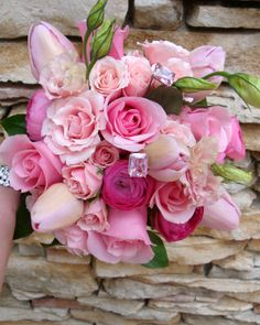 Pretty in Pink bouquet from Blossoms Atlanta