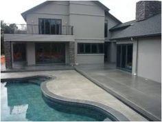 The is applied to concrete for various reasons, like a shield, hygiene, water proofing and enrichment of colour. We are experts in the field. Providing sealing of concrete gave more colour to the already installed concrete. Types Of Concrete, Grinding, How To Become, How To Apply, Colour, Mansions, House Styles, Water, Outdoor Decor