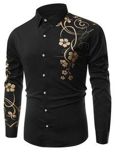 Floral Printed Long Sleeves Shirt