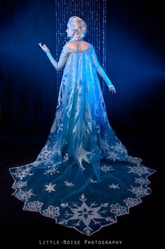 Elsa from Frozen Cosplay