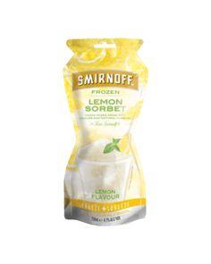 Smirnoff Lemon Sorbet Pouch 250mL | Dan Murphy's | Buy Wine, Champagne, Beer & Spirits Online