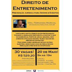Jornalista Denise Machado: Curso Direito de Entretenimento em Curitiba com Dr...