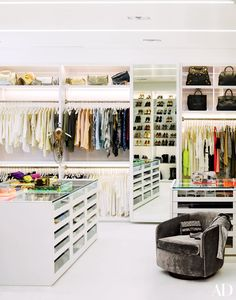 Closet Designs and Dressing Room Ideas Photos | Architectural Digest