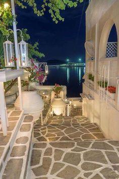 """Molos"" Seaside Cafe Bar in Sithonia, Chalkidiki"