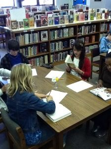Hold a BOOK TASTING in the library! Book speed date for the younger set