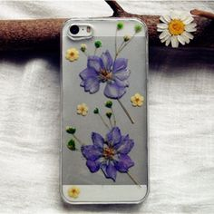 #ForeverLove Dried #Flower iPhone 5/5s Case- Purple Consolida