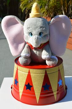 Dumbo Birthday** Circus/Carnival birthday** Prop or Centerpiece- Kids birthday/Baby Shower