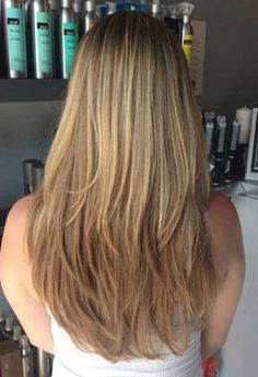How To Cut Long Layered Hairstyles Awesome 80 Cute Layered Hairstyles And Cuts For Long Hair - hair cuts - Women Haircuts For Long Hair, Cool Haircuts, Easy Hairstyles, Straight Hairstyles, Layered Hairstyles, Long Layered Haircuts Straight, Long Straight Layers, Short Layers, Hairstyles 2018