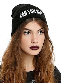 HOTTOPIC.COM - Can You Not Beanie