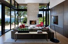 Prestigieuse maison moderne avec vue sur la mer à Vancouver   Vivons maison