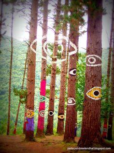Oma Forest sometimes called the Painted Forest ( North of Spain) Basque Country,near San Sebastian (Omako Basoa) Backyard Garden Design, Garden Art, Backyard Ideas, Murcia, Spain Road Trip, Solomons Seal, Sculpture Art, Garden Sculptures, Basque Country