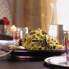 Couscous-Salat mit gebratenen Zucchini Rezept