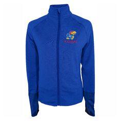 NCAA Kansas Jayhawks Women's Windbreaker Jacket -