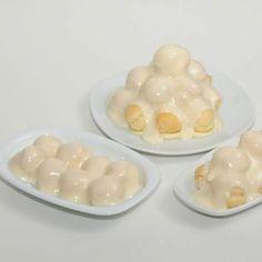 Rezept weiße Profiterole von dolcebella - Rezept der Kategorie Desserts