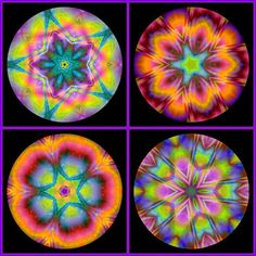 1. Kaleidoscope 94, 2. Kaleidoscope 96,  3. Kaleidoscope 93, 4. Kaleidoscope 95  Created with fd's Flickr Toys by Sue Moore.