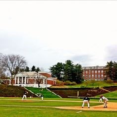 This is Amherst College in Amherst, MA. I lived right across the street from here. What a view!