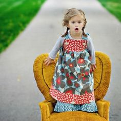 Reverse Knot Dress Pattern Size 6mo - 4T by Kissing Kumquats girls  PDF Download Downloadable sewing pattern Instant AllegroDigiPatterns SALE now...use this code for 20% off: 20AllegroDigiPatterns