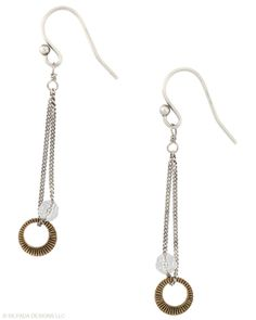 Precious Metal Earrings - by Silpada Designs | Earrings