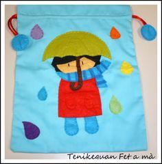 Tenikeguan: Gotas de lluvia de colores