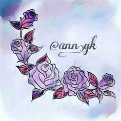Anna K. (@ann.gk) Instagram: «The video is around 40 sec. But I drew it almost 40 min. 😀 I'm studying how to draw flowers to add…»