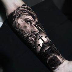 Preto e Cinza na tatuagem: 31 artistas brasileiros para seguir - Blog Tattoo2me Blog, Portrait, Tattoos, Black And Grey Tattoos, Black Style, Solid Black Tattoo, Dibujo, Artists, Tatuajes