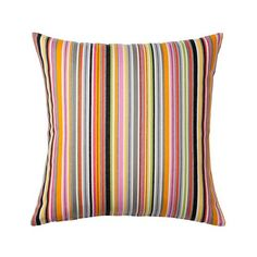 "Ikea Akervallmo Cushion Cover Black, Red, Orange, Gray, Green Stripes 20 "" x 20 "" Ikea http://www.amazon.com/dp/B00KK1RA1Q/ref=cm_sw_r_pi_dp_XosAub1SSFPDP"