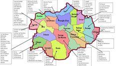 Piccolo Mondo : Mappa delle Aziende della Franciacorta