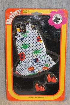 Daisy Mary Quant Vintage Doll 1970's Rare Carded Fashion Outfit Raindrops MOC | eBay