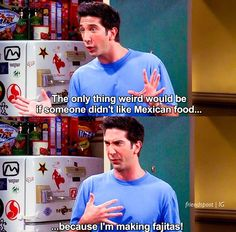 The One Where Ross is Fine. I don't even really watch the show consistently but this episode GETS me okay XD