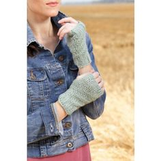 Fingerless Mitts Knook Download Pattern $3