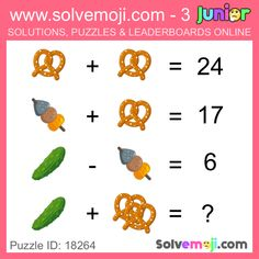 Solvemoji - Free teaching resources - Emoji math puzzle, great as a primary math starter, or to give your brain an emoji game workout. Emoji Games, Math Games, Maths Starters, Maths Puzzles, Free Teaching Resources, Primary Maths, Brain Teasers, Riddles, Math Centers