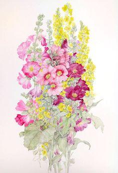 Ritratti floreali di Gianna Tuninetti -