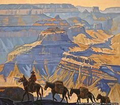 New Works, Arizona State - Dennis Ziemienski - Grand Canyon Pack Train