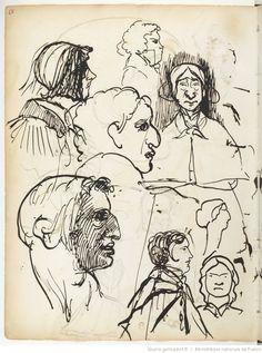 Carnet 1 : [carnet de dessins] / Edgar Degas | Gallica