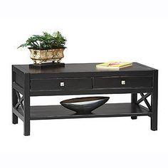 #worldmarket.com          #table                    #Antique #Black #Easton #Coffee #Table              Antique Black Easton Coffee Table                                             http://www.seapai.com/product.aspx?PID=68000