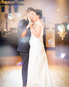 Magical Bride and Groom First dance at their wedding