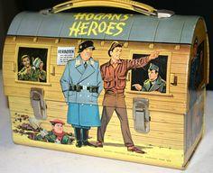 Hogan's Heroes Vintage Lunch Box  (1966 Antique Dome Lunchbox, Aladdin, Hogans Heroes)