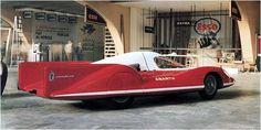 1957 Abarth Alfa Romeo 1100 Record Concept Car designed by Pininfarina