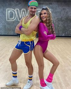 80s Night:Monday evening's episode of Dancing With The Stars will put the contestant's 80s knowledge to the test as they perform an array of dances to some of the era's biggest hits; Gleb and Chrishell pictured on Friday