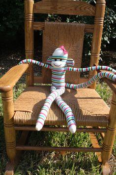 Sock Monkey - http://www.craftbits.com/project/sock-monkey