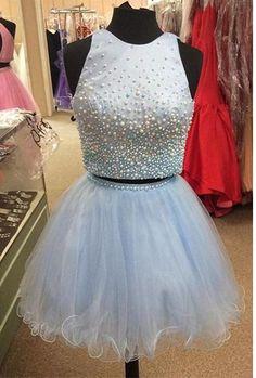Beading Short Homecoming Dress,Sexy Party Dress,Charming Homecoming Dress,Pretty…