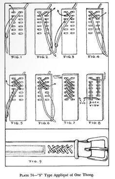 En el libro Leather Braiding de Bruce Grant, se explica como hacerlo.