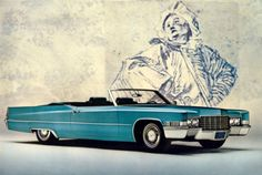 "1969 Cadillac DeVille convertible * ""Stonewall Car"" * 25 pix"