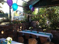 burlap birthday bunting banner