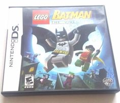Nintendo DS Dsi Dsl Complete Game LEGO BATMAN THE VIDEO GAME Heroes & Villains