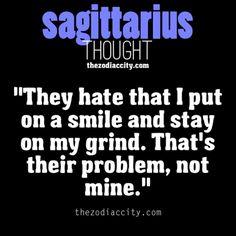 Sagittarius thought.